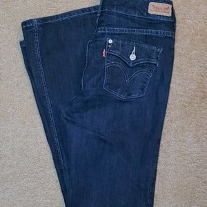 LEVI'S 526 Slender Boot Jeans, Size 6
